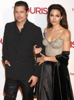 The Tourist premiere in Madrid: Brad Pitt and Angelina Jolie | Now Magazine | Pictures | Celebrity Gossip | Red Carpet