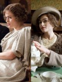 Helena Bonham Carter does vintage chic