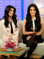 Kourtney Kardashian and Kim Kardashian | Celebrity Gossip | Pictures | Photos | Gallery |