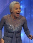 VIDEO Denise Welch's angry husband confronts Jason Gardiner before she's voted off Dancing On Ice