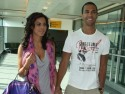 JLS star Marvin Humes and Rochelle Wiseman fly home from romantic break in Dubai