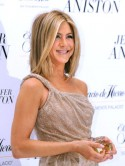 Jennifer Aniston launches perfume in Mexico City