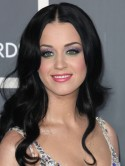 Katy Perry's colour clash eyeshadow