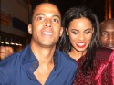 Rochelle Wiseman and Marvin Humes party with JLS