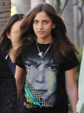 Michael Jackson's daughter likes experimenting with her look