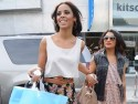 The Saturdays' Rochelle Wiseman and Vanessa White hit the shops in LA