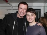 John Travolta and Daniel Radcliffe | Celebrity Gossip | Pictures | Photos | Gallery