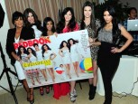Kim Kardashian, Kourtney Kardashian, Khloe Kardashian and family celebrate Redbook Cover | Redbook Magazine Kardashians cover | Pictures | Photos | New
