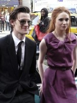 Karen Gillan and Matt Smith | Doctor Who | Pictures | Photos | New | Now Magazine