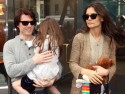 Tom Cruise, Katie Holmes and Suri go sweet shopping in New York