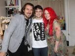 Jonathan Ross, Daniel Radcliffe and Jane Goldman | Celebrity Gossip | Pictures | Photos | Gallery