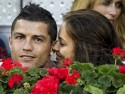Cristiano Ronaldo is loved-up with girlfriend Irina Shayk at Spanish tennis match