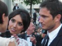EXCLUSIVE Christine Bleakley and Frank Lampard work the red carpet at National Movie Awards 2011