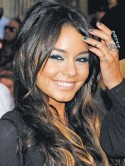 Vanessa Hudgens' blue eyeshadow