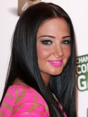 PICTURES Tulisa Contostavlos - from bleached blonde to glossy brunette