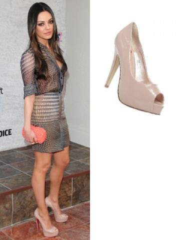Mila Kunis   Top 10 celebrity shoes   Pictures   Now Magazine ...