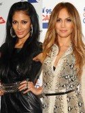 Nicole Scherzinger and Jennifer Lopez rock thigh-high boots at Capital FM's Summertime Ball