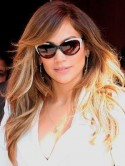 Jennifer Lopez's new two-tone hair
