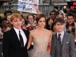 Rupert Grint, Emma Watson and Daniel Radcliffe | Harry Potter And The Deathly Hallows: Part 2 premiere | Pictures | Photos | New