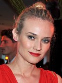 Diane Kruger's oh-so-simple up-do