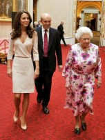 Kate Middleton and The Queen | Buckingham Palace | Pictures | Photos | New