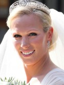 Royal bride Zara Phillips looks beautiful on her big day