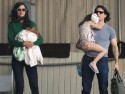 Tom Cruise, Katie Holmes and Suri head home from New York