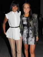 Kelly Rowland and Tulisa Contostavlos | London August 2011 | Pictures | Photos | New