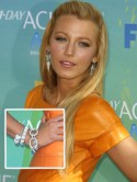 Blake Lively's bling at Teen Choice Awards