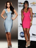X Factor judges Tulisa Contostavlos and Kelly Rowland are  hot in Herve Leger bandage dresses