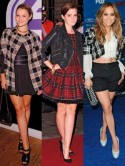 Emma Watson, Jennifer Lopez and Amber Atherton join the tartan army