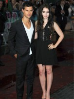Taylor Lautner and Lily Collins | Abduction Film Premiere London | New | Pictures | Photos | Celebrity News