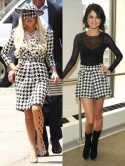 Lady Gaga and Selena Gomez love canine couture