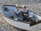 John and Edward Grimes learn about fossils for new TV show Jedward's Big Adventure