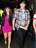 PICTURES The X Factor's Sophie Habibis and Craig Colton head to G-A-Y with Matt Cardle