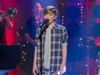Britain's Got Talent cutie Ronan Parke sings Feeling Good on TV
