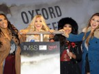 The Saturdays switch on Oxford Street Christmas lights and perform new single My Heart Takes Over