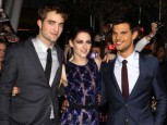 Robert Pattinson, Kristen Stewart and Taylor Lautner | Twilight Breaking Dawn Part 1 LA Premiere | Pictures | Photos | New | Celebrity News