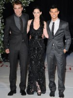 Robert Pattinson, Kristen Stewart and Taylor Lautner | The Twilight Saga: Breaking Dawn Part 1 London premiere | Pictures | Photos | New | Celebrity News