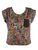 Alphabet print top by Lavish Alice