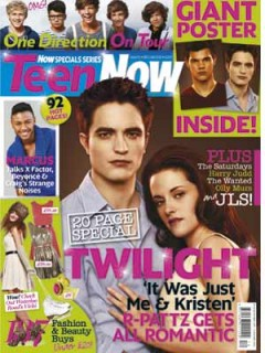 Teen Now cover Dec 2011/Jan 2012