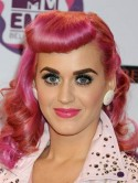 Katy Perry's clashing make-up