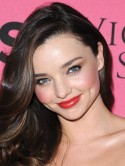 Miranda Kerr's cute pink cheeks