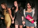 Tulisa wears tiny dress for night out with The Saturdays' Rochelle  and Vanessa