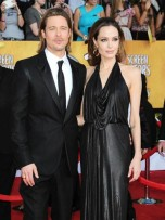 Brad Pitt and Angelina Jolie | Screen Actors Guild Awards 2012 | Pictures | Photos | New | Celebrity News