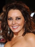 Injured Carol Vorderman angry at Twitter 'idiots' for suggesting she's had a secret nose job