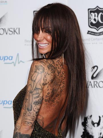 Jodie Marsh Hair Extensions 41