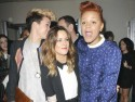Caroline Flack puts Harry Styles split behind her at London Fashion Week party