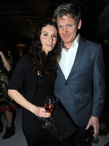Gordon Ramsay with beautiful, Wife Tana Ramsay