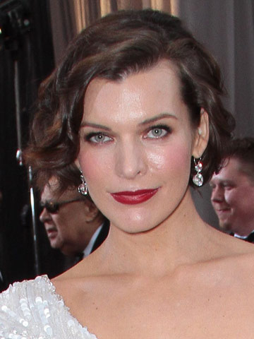 Milla Jovovich | Oscars 2012 | Pictures | Photos | New | Celebrity News